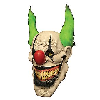 Zippo Clown Horror Joker Evil Sinister Creepy Mens Costume Overhead Latex Mask