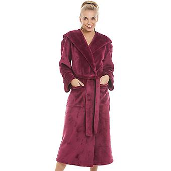 Camille Super Soft Fleece Ruby Red Dressing Gown