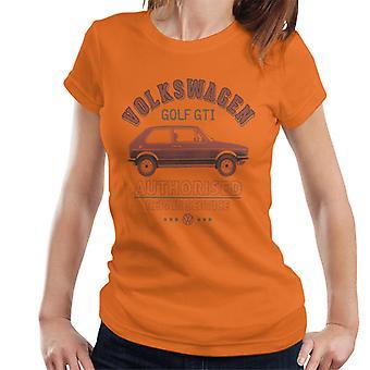 Official Volkswagen Red Golf GTI Repairs Women's T-Shirt