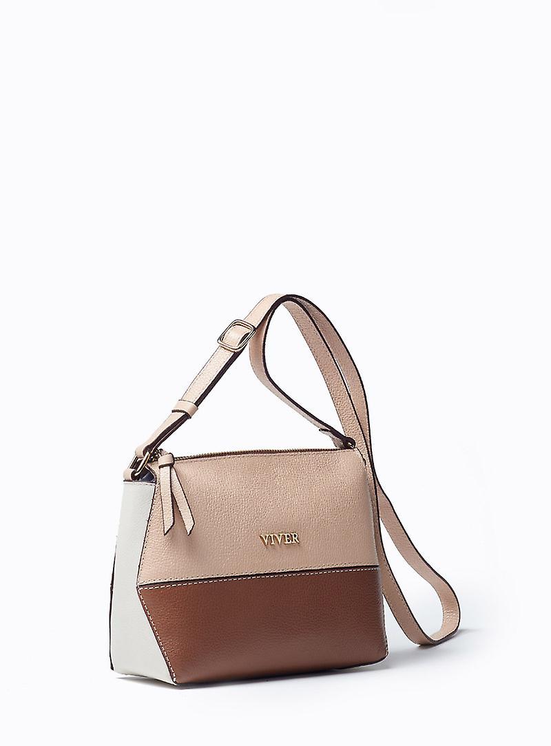 Viver Sky Dawn Leather Crossbody Bag