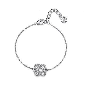 Oliver Weber Bracelet Flor Rhodium Crystal