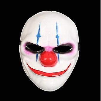 Payaso purga máscara mascarada partido partido de halloween-azul rayas