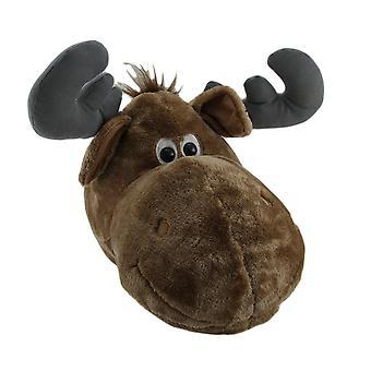 Wild Walls Stuffed Animal Head Plush Wall Sculpture