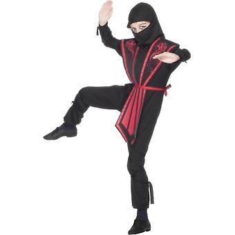 Strój ninja, dziecko, średnio chłopców w wieku 6-8