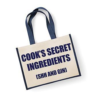 Mare Navy iută bag Cook ' s secret ingrediente (Shh și gin)