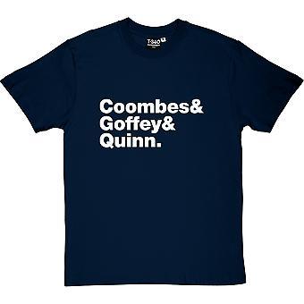 Supergrass Line-Up Navy Blue Men's T-Shirt