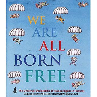 Vi är alla födda fria: Den allmänna förklaringen om mänskliga rättigheter i bilder