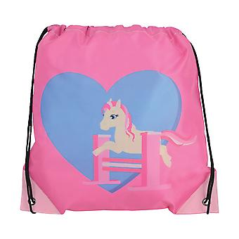 Little Rider Childrens/Kids Show Pony Drawstring Bag