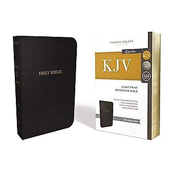 KJV, viittaus Raamatun, Giant tulosta liimattu nahkaa, musta, punainen kirjain painos, Comfort tulosta