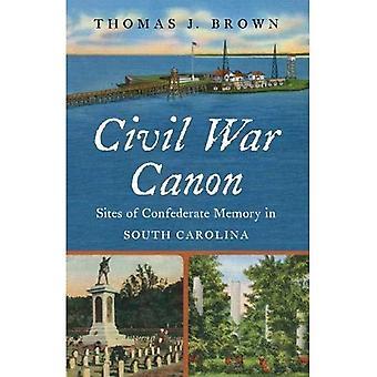 Bürgerkrieg-Canon: Websites der Konföderierten Speicher in South Carolina (Bürgerkrieg Amerika)