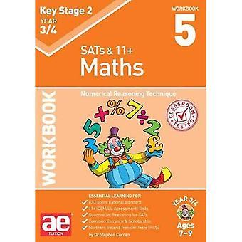 KS2 Matematyki skoroszyt 3/4 roku 5: numeryczne rozumowanie technika
