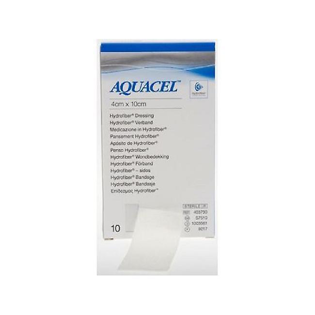 AQUACEL DRESSING 4X10CM S7510 10