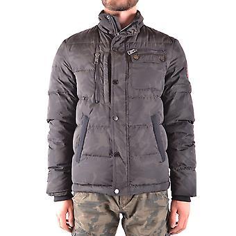 Aeronautica Militare Ezbc047002 Herren's Grüne Polyester Outerwear Jacke