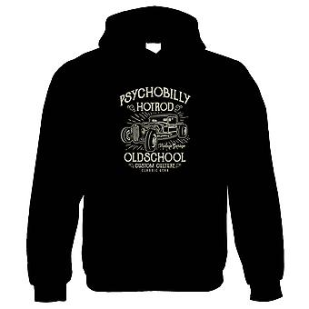 Psychobilly Hot Rod, Classic Muscle Cars Funny Hoodie - Regalarlo Su