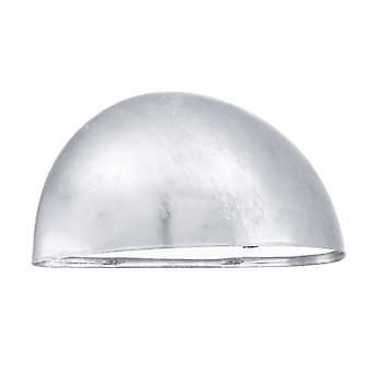 Eglo Lepus Outdoor IP23 Galvanized Steel Wall Light