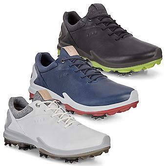 ECCO miesten BIOM G3 vedenpitävä hengittävä nahka Golf kengät