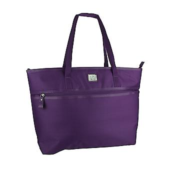 Protege Purple Laptop Travel Tote Bag for Women