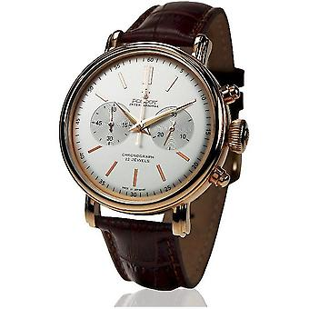 Poljot International Men's Watch Classic Chrono Hand lift 2901.1940214