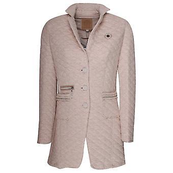 L'argentina Longline Quilted Blazer Style Jacket
