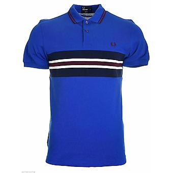 Fred Perry Bomber Stripe Insert Men's Short Sleeved Polo Shirt M8237-919