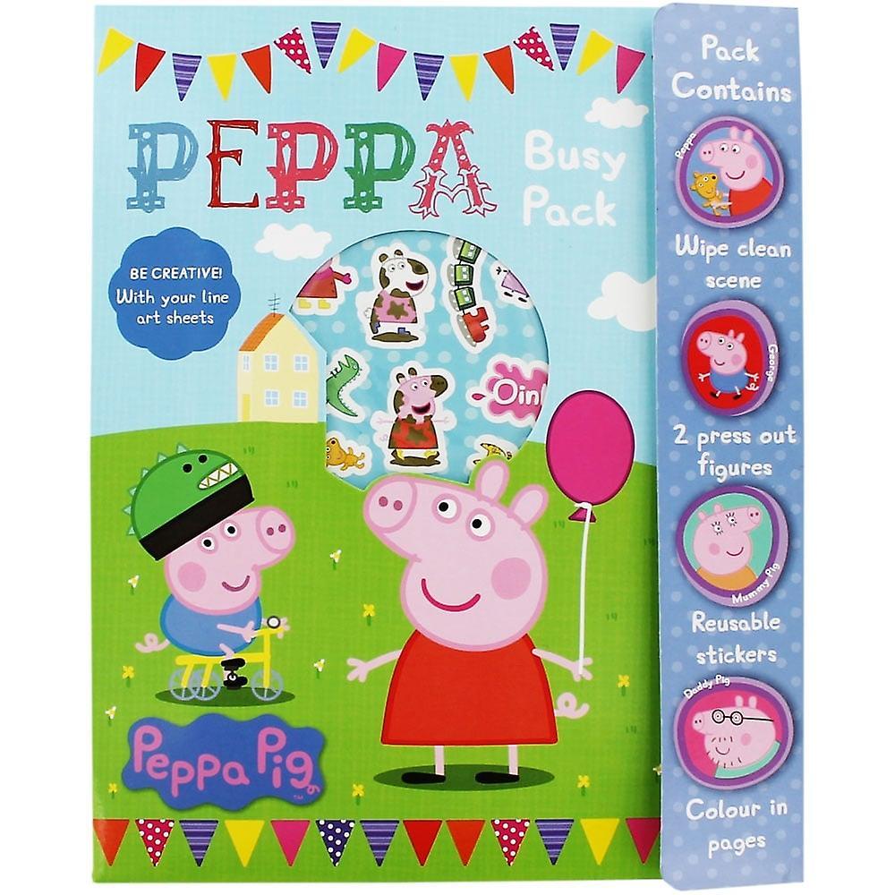 Peppa Pig upptagen Pack