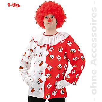 Klovn kostume Herre klovn skjorte Köln fan Köln mænd kostume