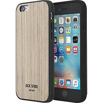 Original JACK SPADE Wood Case for iPhone 6/6s - Wood Veneer Walnut