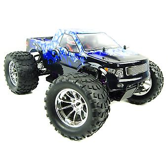Bug Crusher Electric RC Monster Truck RTR - Blue Ice