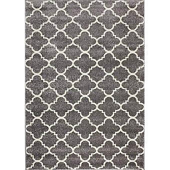 Design matta av högsta kvalite Light Gray/ White