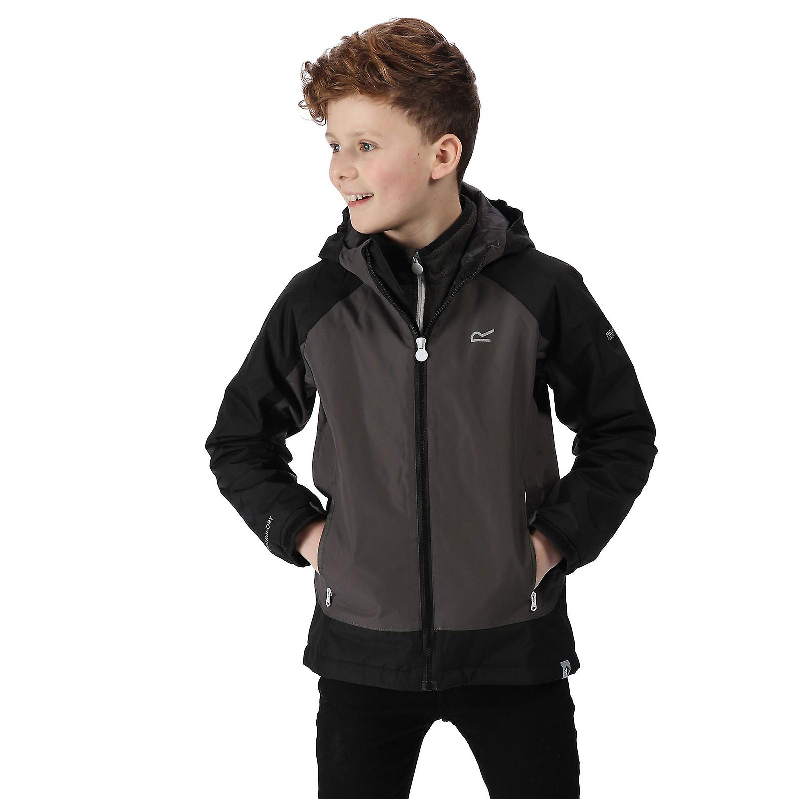 Regatta Hurdle III Kids Waterproof Insulated Jacket