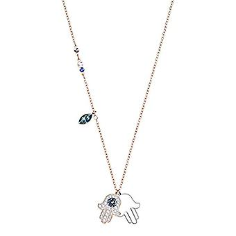 Swarovski Leaning by Woman Duo Hamsa Hand - Multicolore - Mixed Plate