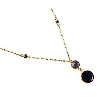 Gemshine Necklace with Donna vermeil pendant - CSEON