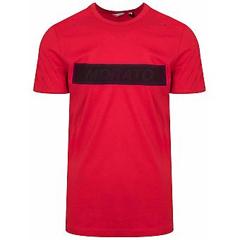 Antony Morato Sport Red Print Logo T-Shirt