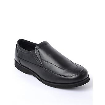 Chums Mens Shoes Wide Fit Slip On