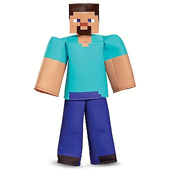 Steve Prestige Deluxe Mojan Minecraft Player Video Game Book Week Boys Costume