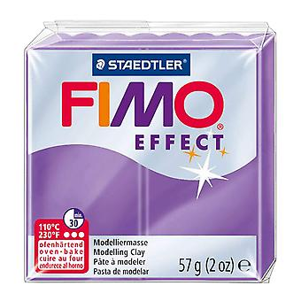 Fimo Effect Modelling Clay, Transparent Lilac, 57 g