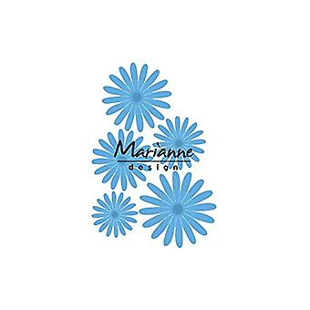 Marianne Design Creatables Anja bloem Set sterven, blauw