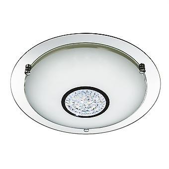 Søkelys Baderom integrert LED bad flush tak krom, speil IP44 3883-41