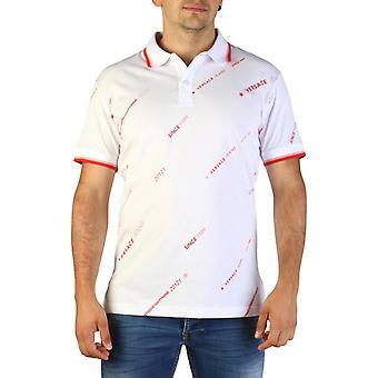 Versace jeans men's polo shirt white b3gtb7p8