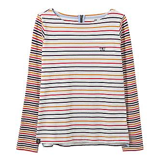 Lighthouse Causeway Ladies Top Pink/Sunrise Stripe