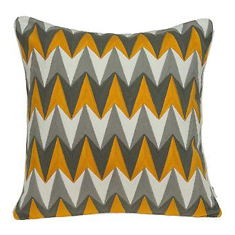 """20"""" x 7"""" x 20"""" Multicolor Cotton Pillow Cover With Poly Insert"""