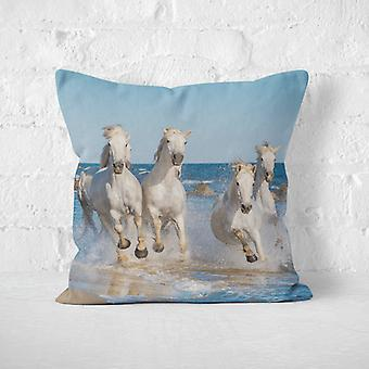 Meesoz Cushion Cover - Running Horses