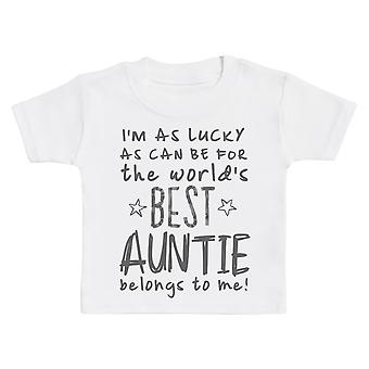 I-apos;m As Lucky As Can Be Best Tante m'appartient! T-Shirt de chéri
