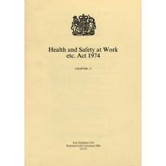 Gezondheid en veiligheid op het werk etc. Act 1974 door Groot-Brittannië