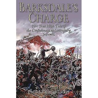 BarksdaleS Charge The True High Tide of the Confederacy at Gettysburg July 2 1863 par Phillip Thomas Tucker