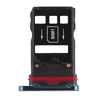 Pour Huawei Mate 20 Pro Cards Holder Sim Card Tray Slide Holder Green Spare Part