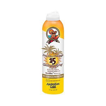 Spray Sun Protector Premium Coverage Australian Gold SPF 15 (177 ml)