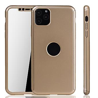 Apple iPhone 11 Pro Case Phone Cover Protective Case Bumper Fullcover Tank Protection Glass Gold