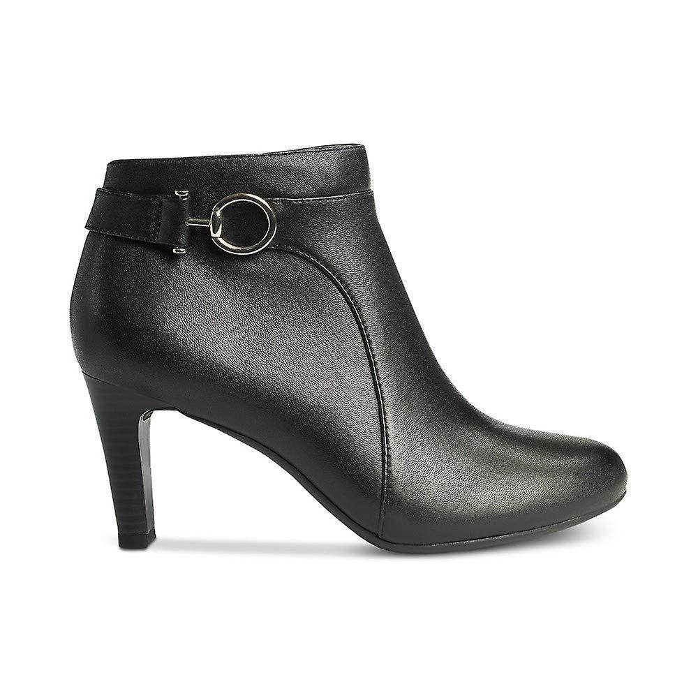 Bandolino Womens Longo Leather Closed Toe Ankle Fashion Boots pL9U0