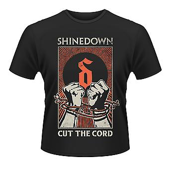 Shinedown Cut The Cord Threat to Survival Official T-Shirt